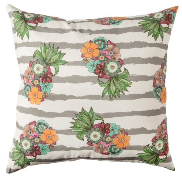 Chica Chica Boom Scatter Cushion Carmen Grey 60x60